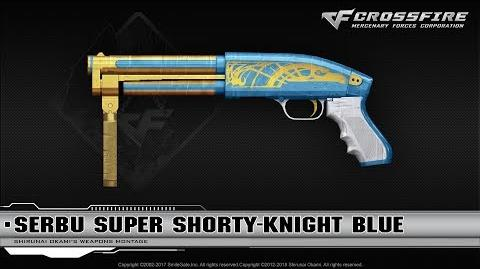 CrossFire China Serbu Super Shorty-Knight Blue