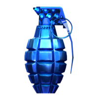 MK2 Grenade Platinum Blue RD