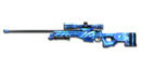 Sniper AWM-Blue Diamond
