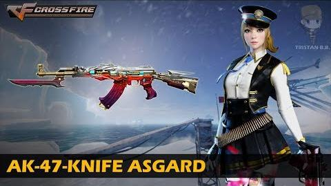 CrossFire China AK-47-Knife Asgard