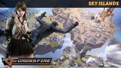 CrossFire Vietnam - Sky Islands (Battle Royale Top 1) Battle Royale Map Mode Gameplay