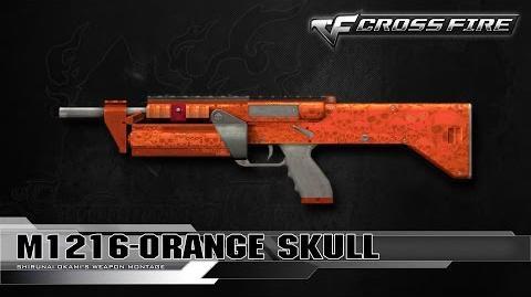 CrossFire China M1216-Orange Skull ☆-0