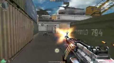 Cross Fire China -- M249 Minimi SPW-Burst Fire Urban -GamePlay-!