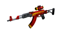 AK47 SCOPE RED DRAGON RD2