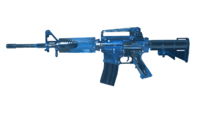M4A1 Blue Crystal Render