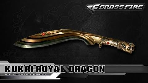 CrossFire Vietnam - Kukri-Royal Dragon ☆