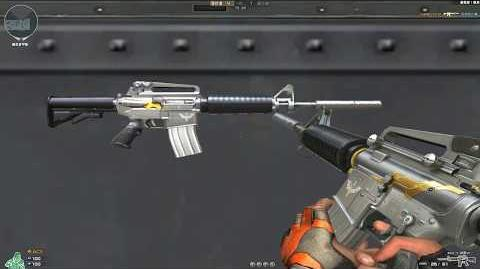 Cross Fire China M4A1-S Sentry (Royal Guard 1st) !