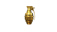 MK2 Grenade Ultimate Gold