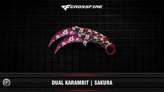 CF Dual Karambit Sakura
