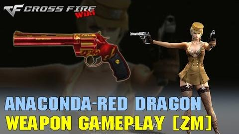 CrossFire - Anaconda Red Dragon - Weapon Gameplay