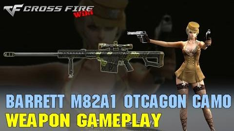 CrossFire - Barrett M82A1 Octagon Camo - Weapon Gameplay