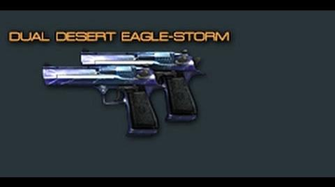 Cross Fire China Dual Desert Eagle-Storm (Pistol) Review !