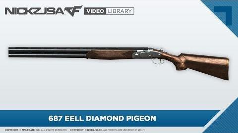 687 EELL Diamond Pigeon CrossFire 2.0