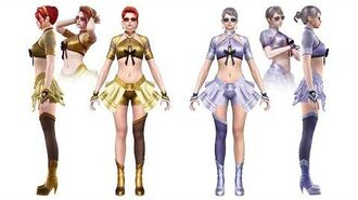 CrossFire China NYMPHS-Noble Gold Seaside (王者-樱-夏日逐浪) Character Review CF News