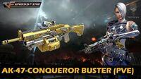 CrossFire Vietnam AK-47-Conqueror Buster (Zombie Mode)