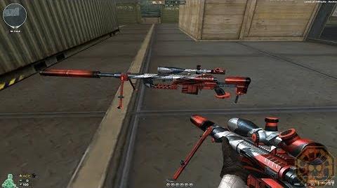 Cross Fire NA UK CheyTac M200-Red Eagle !