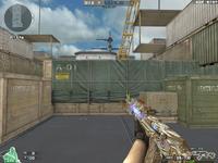 AK47 KNIFE TRANSFORMER GOLDISH HUD