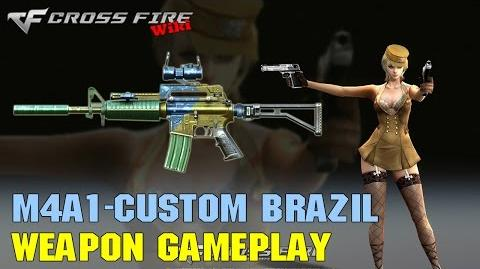 CrossFire - M4A1-Custom Brazil - Weapon Gameplay