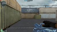 Gatling Gun-Blue Crystal HUD