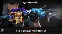 CF M4A1 Silencer Prism Beast CG (2016)