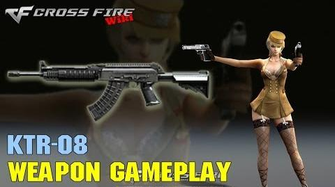 CrossFire - KTR-08 - Weapon Gameplay