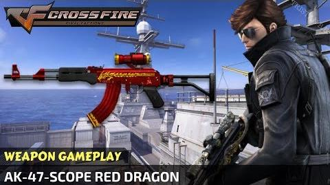 CrossFire Vietnam - AK-47-Scope Red Dragon