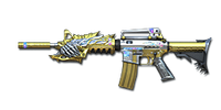 M4A1-S Beast Imperial Gold