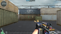 M4A1 S DMZ 9th NO MARK HUD