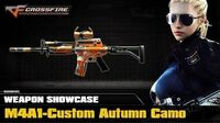 CF Europe - M4A1-Custom Autumn Camo (Showcase)