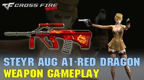 CrossFire - Steyr AUG A1 Red Dragon - Weapon Gameplay