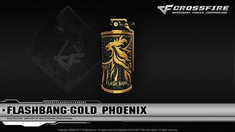 CrossFire China Flashbang-Gold Phoenix