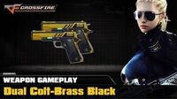 CrossFire VN - Dual Colt-Brass Black