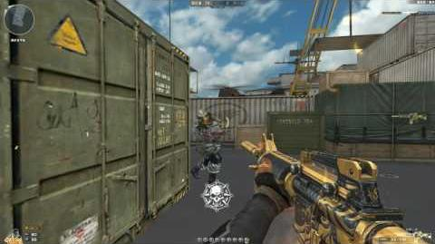 Cross Fire China -- M4A1-S Gold Phoenix !
