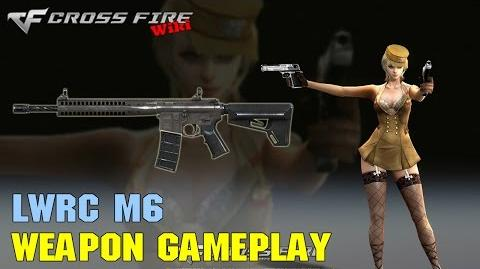 CrossFire - LWRC M6 - Weapon Gameplay