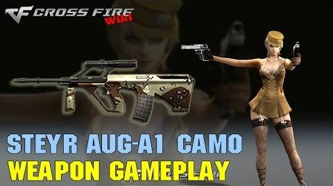 CrossFire - Steyr AUG A1 Camo - Weapon Gameplay