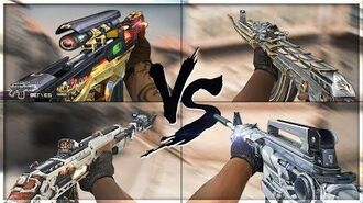 CrossFire 2.0 9A-91 WILD EAGLE vs VIP Weapons VVIP Weapon Comparison