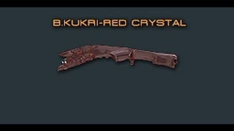 Cross Fire China Broken Kukri-Red Crystal Review !