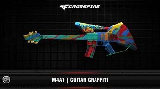 CF - M4A1 - Guitar Graffiti