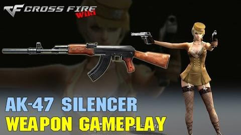 CrossFire - AK-47 Silencer - Weapon Gameplay