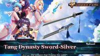 CrossFire QQ Tang Dynasty Sword Silver 🔪