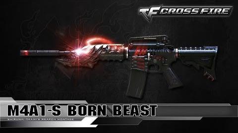 CrossFire Vietnam M4A1-S Born Beast ☆