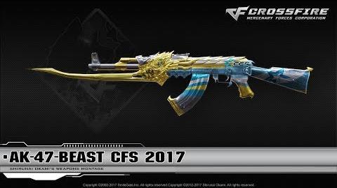 CrossFire China AK-47-Beast CFS 2017