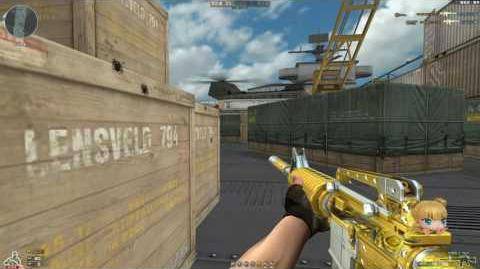 Cross Fire China M4A1-S Jewelry Noble Gold !