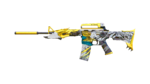 M4A1-S TRANSFORMER HUBI R