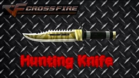 A Key to Ghost Mode- Hunting Knife