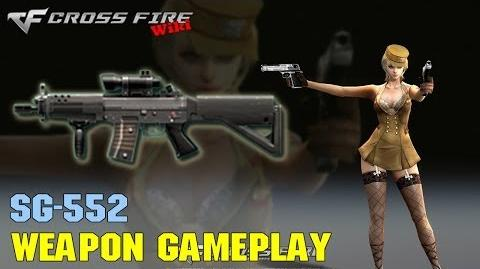 CrossFire - SG552 - Weapon Gameplay