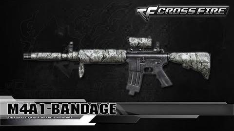 CrossFire Korea M4A1-Bandage ☆