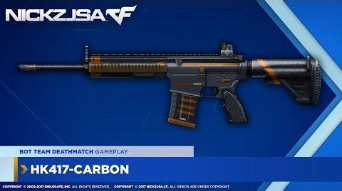 HK417-Carbon CROSSFIRE North America 2.0