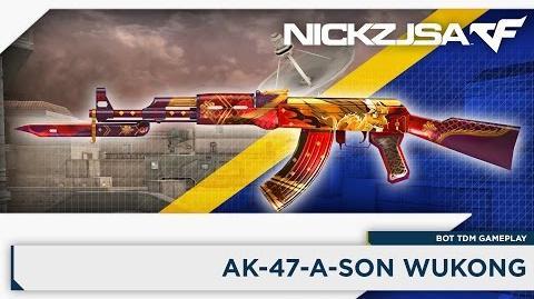 AK-47-A-Sun Wukong CROSSFIRE China 2.0 EXP