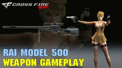 CrossFire - RAI Model 500 - Weapon Gameplay